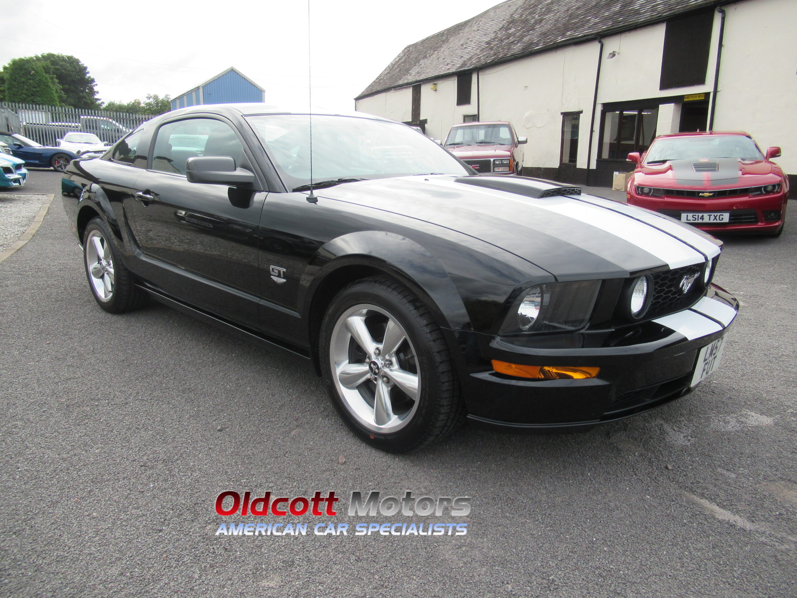 2008 FORD MUSTANG 4.6 LITRE GT PREMIUM