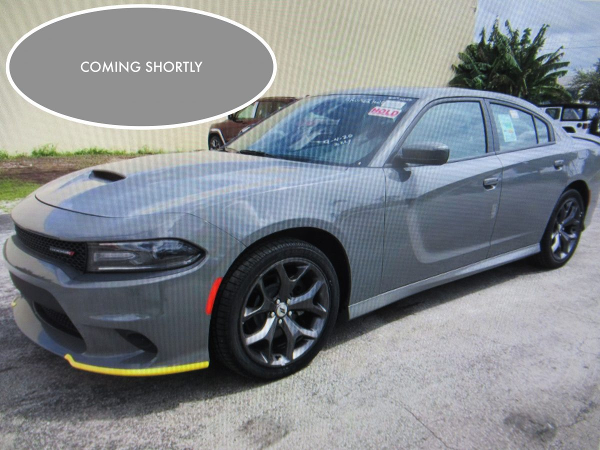 NEW DODGE CHARGER GT