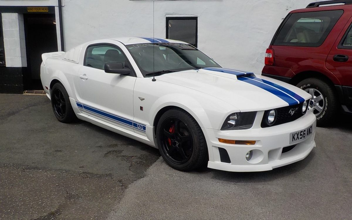 2006 FORD MUSTANG ROUSH 4.6 LITRE SUPERCHARGED 5 SPEED MANUAL