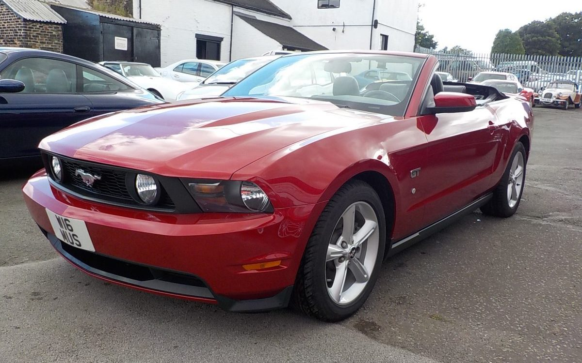 2010 FORD MUSTANG 4.6 LITRE V8 GT AUTO PREMIUM CONVERTIBLE