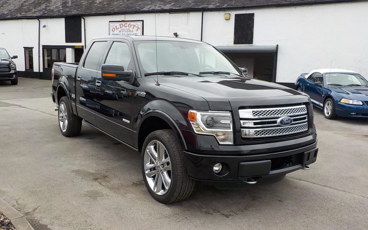 2013 FORD F150 LIMITED 3.5 LITRE ECO BOOST