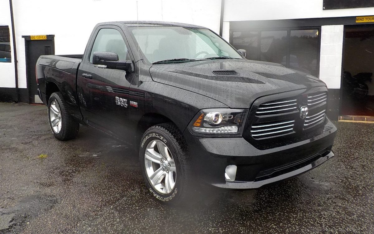 2016 NEW DODGE RAM 1500 SPORT 4X4 REGULAR CAB 5.7 LITRE HEMI PICKUP