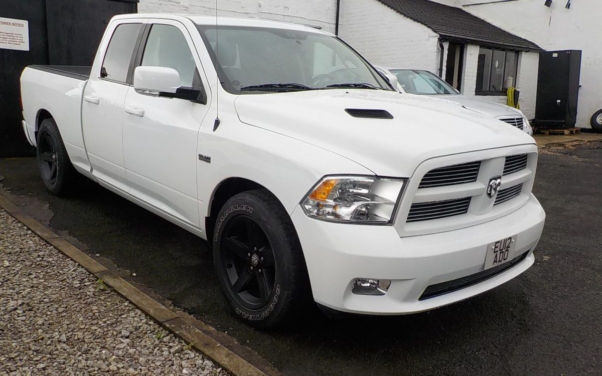 2012 DODGE RAM 5.7 LITRE HEMI SPORT 4X4 AUTOMATIC QUAD CAB PICK UP