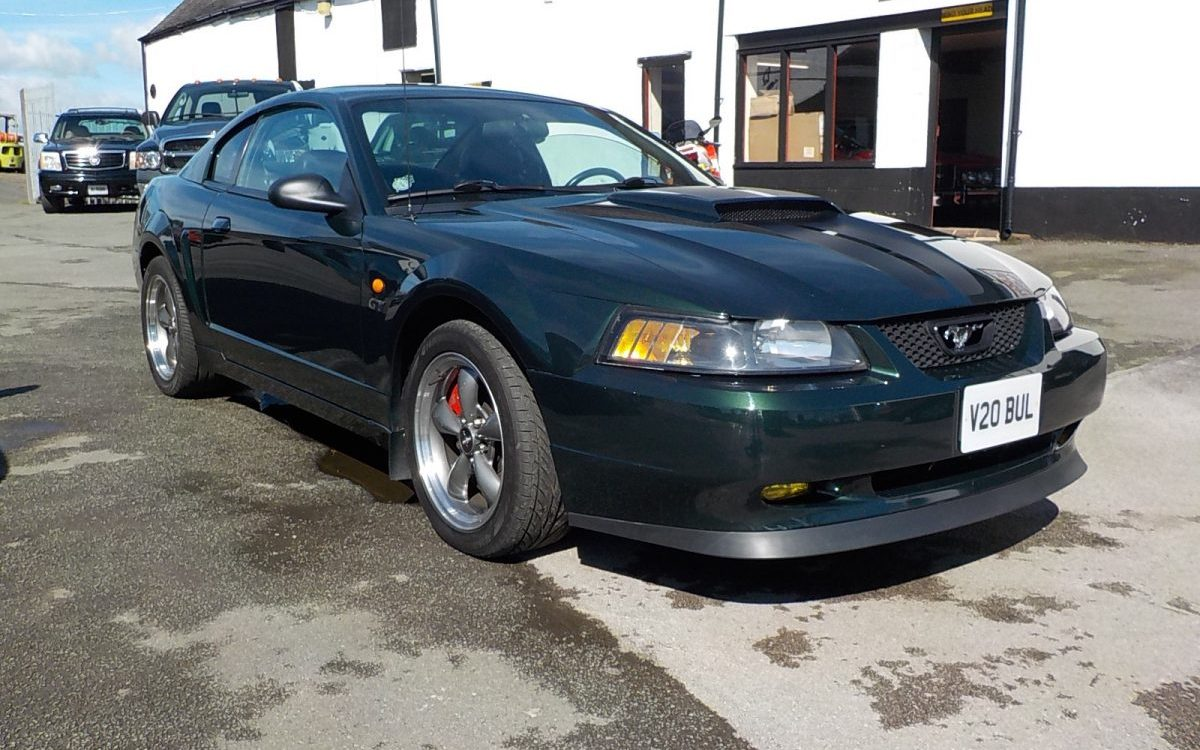 2001 FORD MUSTANG BULLITT 4.6 LITRE MANUAL SUPERCHARGED