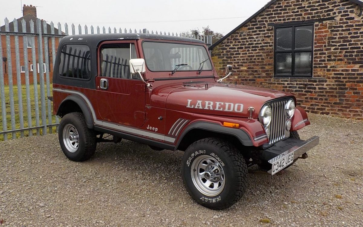 1986 JEEP CJ7 LAREDO 4.3 LITRE 6 CYLINDER MANUAL