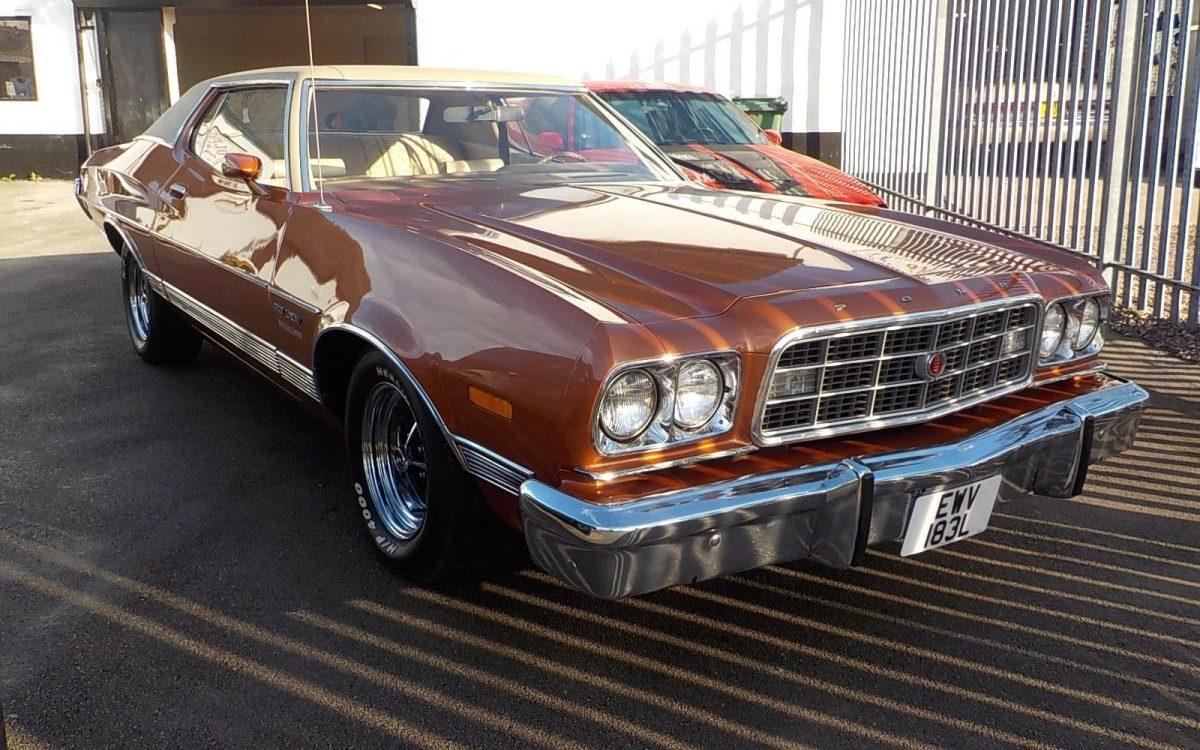 1973 FORD TORINO 5.O LITRE V8 AUTO