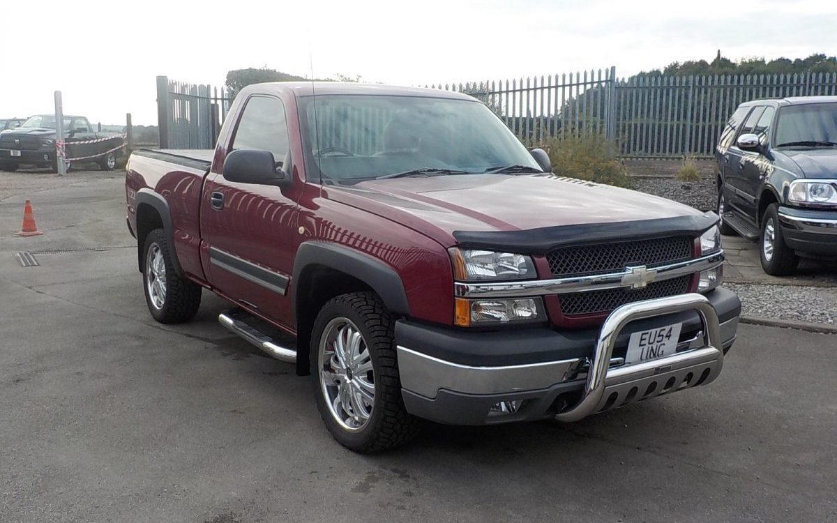 2004 CHEVROLET Z74 REGULAR CAB 5.3 LITRE AUTO 4X4 RIGHT HAND DRIVE