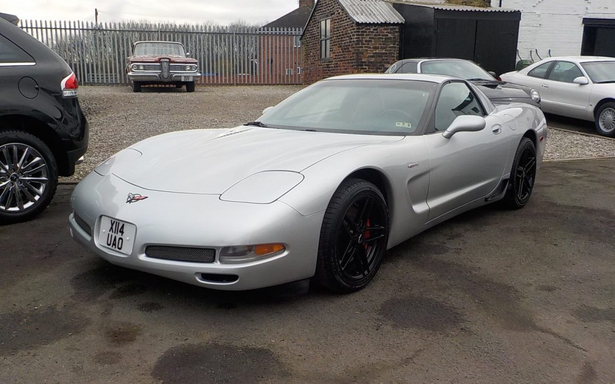 2001 CHEVROLET CORVETTE Z06 5.7 LITRE MANUAL 36,000 MILES