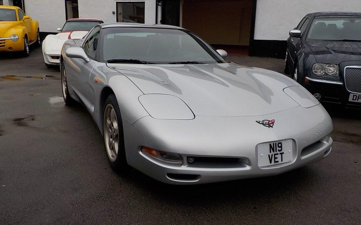 1997 CHEVROLET CORVETTE 5.7 LITRE AUTO EURO SPEC