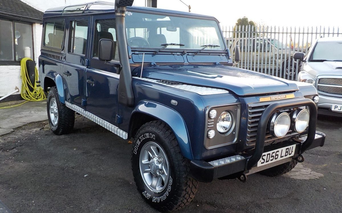 2007 LANDROVER 110 DEFENDER 2.5 TD5 XS MANUAL