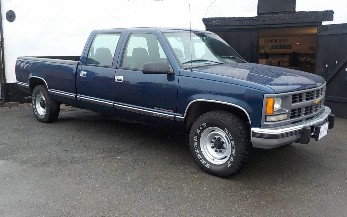 1998 CHEVROLET 3500 6.5 LITRE TURBO