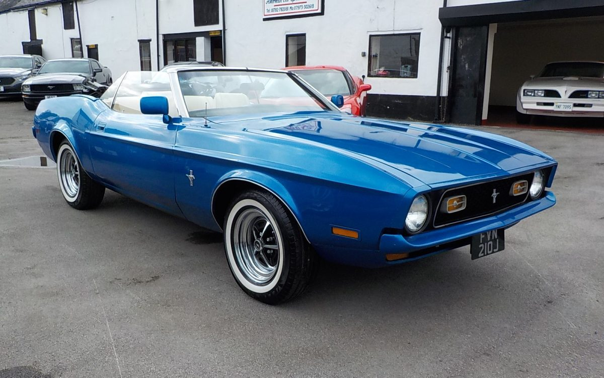 1971 FORD MUSTANG CONVERTIBLE 5.0 LITRE V8 AUTO