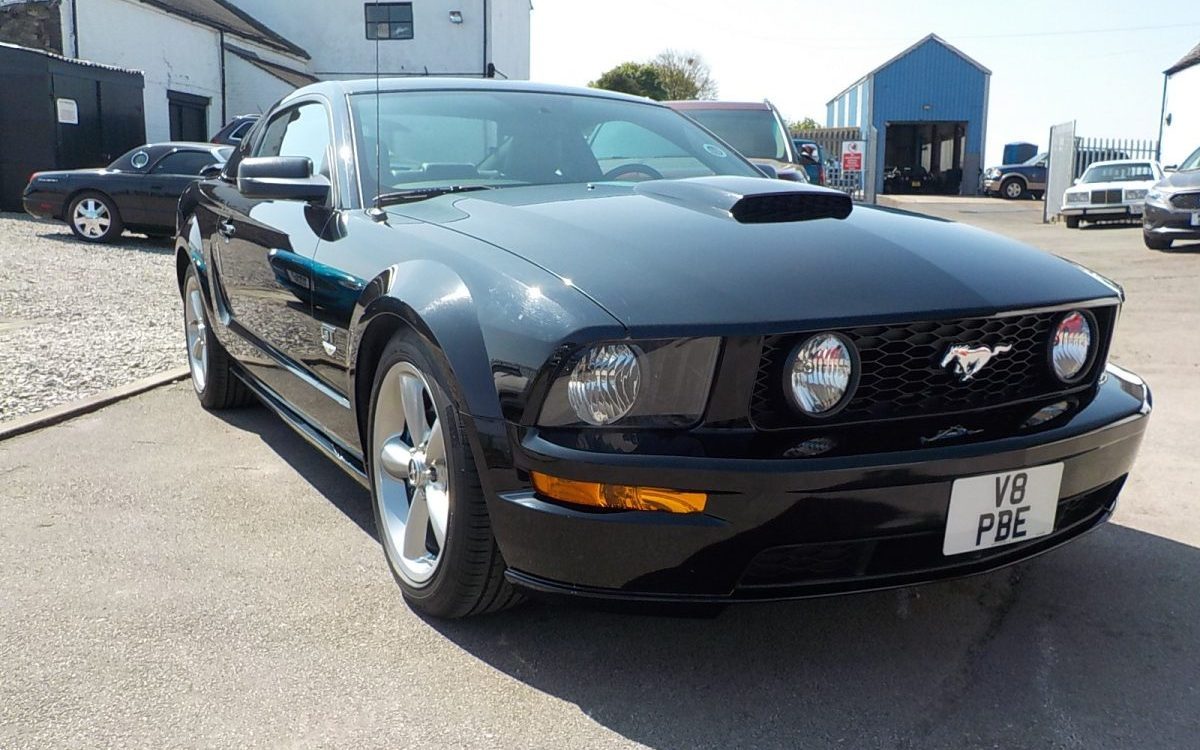 2008 FORD MUSTANG PREMIUM GT 4.6 LITRE V8 AUTO