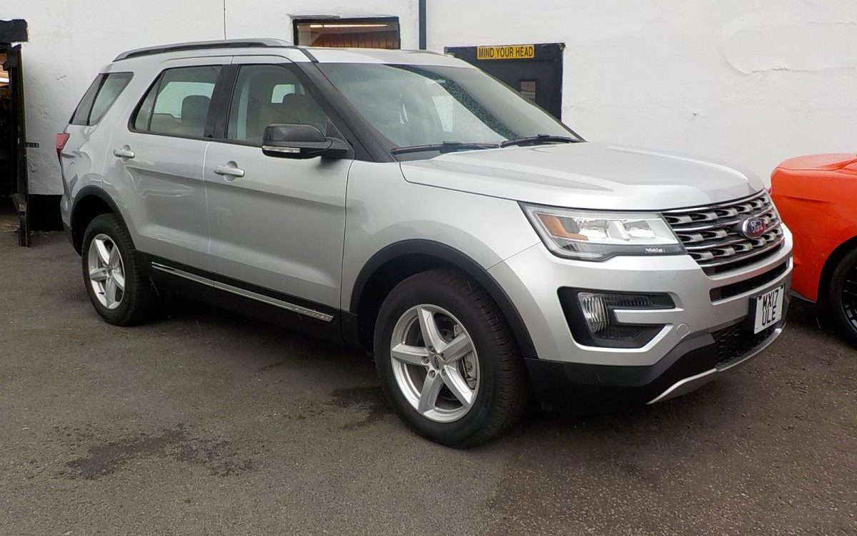 2017 NEW FORD EXPLORER XLT 3.5 LITRE 4X4  1OO MILES