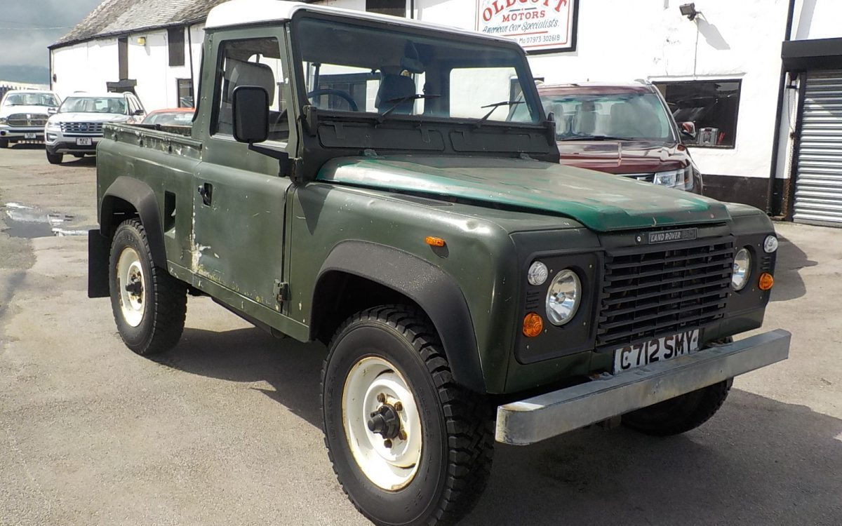 1986 LANDROVER 90 2.5 LITRE TURBO DIESEL PICK UP