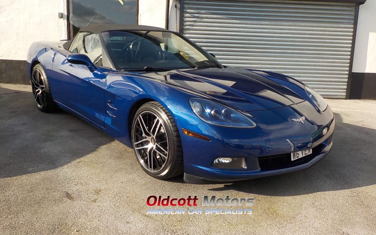 2005 CHEVROLET CORVETTE C6 5.7 LITRE 6 SPEED MANUAL
