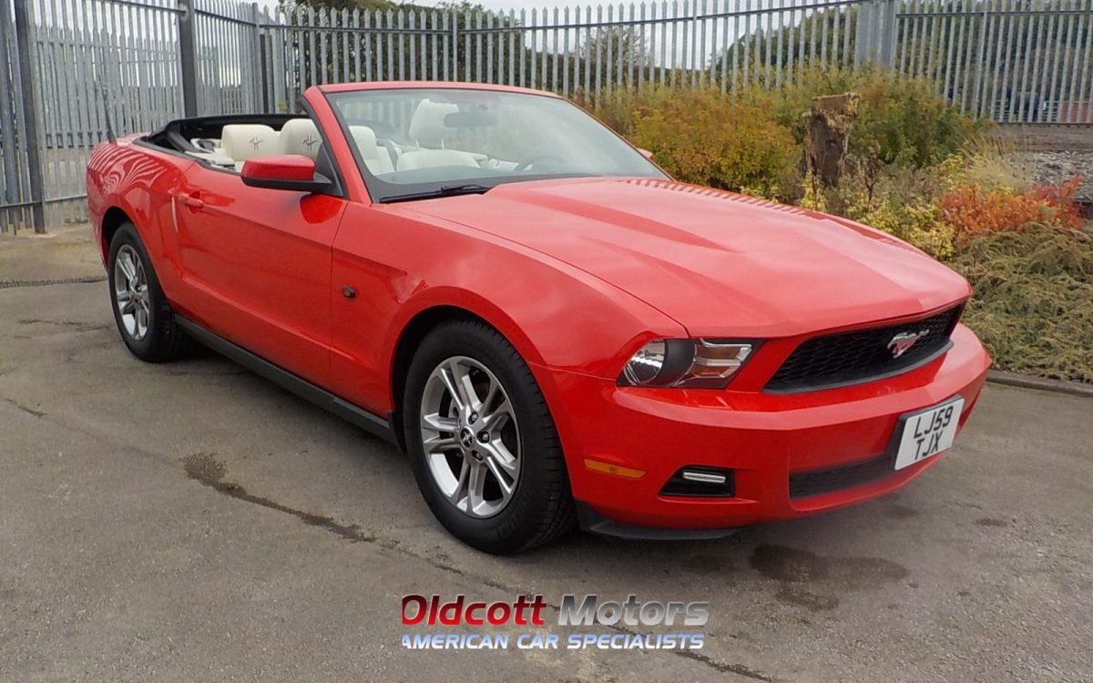 2010 FORD MUSTANG CONVERTIBLE 4.0 LITRE AUTO 51,000 MILES