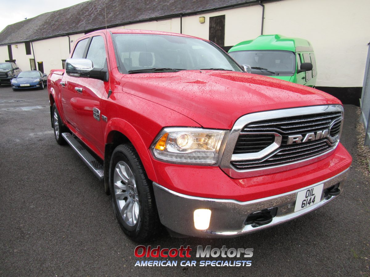 2018 DODGE RAM LONGHORN 5.7 HEMI 8 SPEED AUTO 4X4