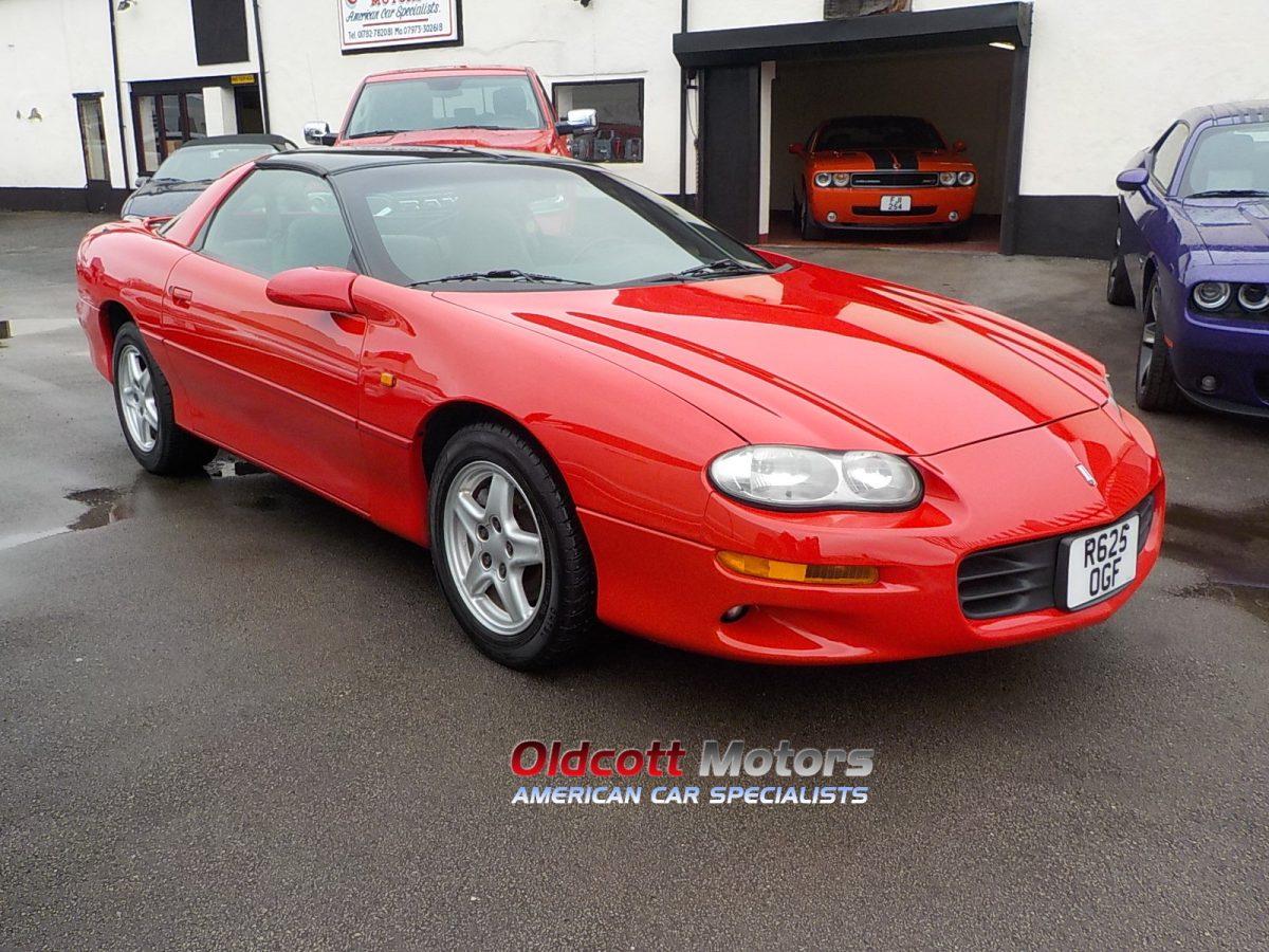 1998 CHEVROLET CAMARO 3.8 LITRE V6