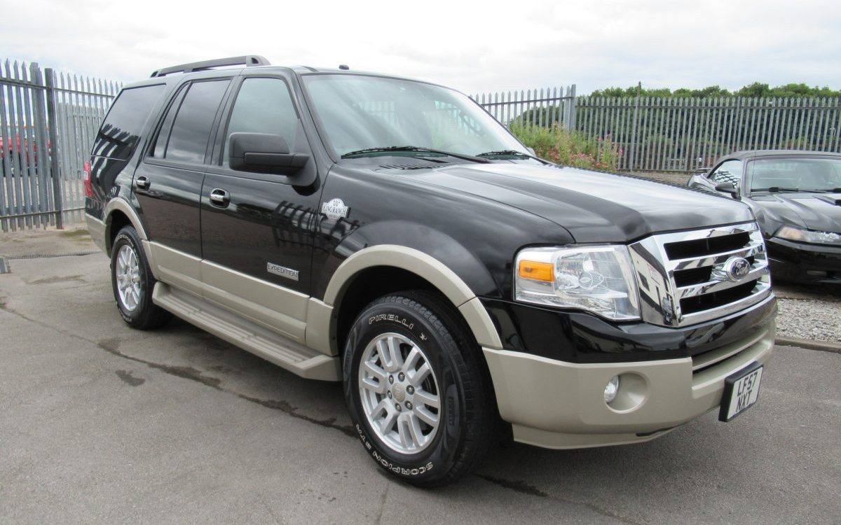 2008 FORD EXPEDITION KING RANCH 5.4 LITRE AUTO