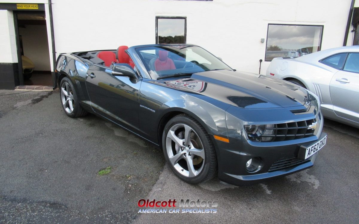 2013 CHEVROLET CAMARO 2SS 6.2 LITRE 6 SPEED MANUAL EURO SPEC