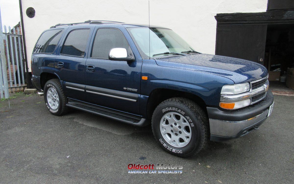 2001 CHEVROLET TAHOE 5.3 LITRE 4X4 AUTO BRC LPG