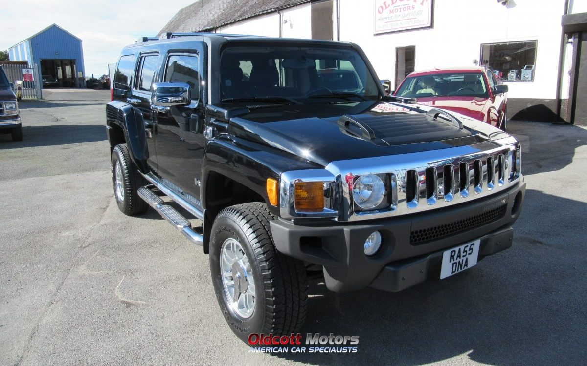2006 HUMMER H3 AUTOMATIC 4X4 LEFT HAND DRIVE
