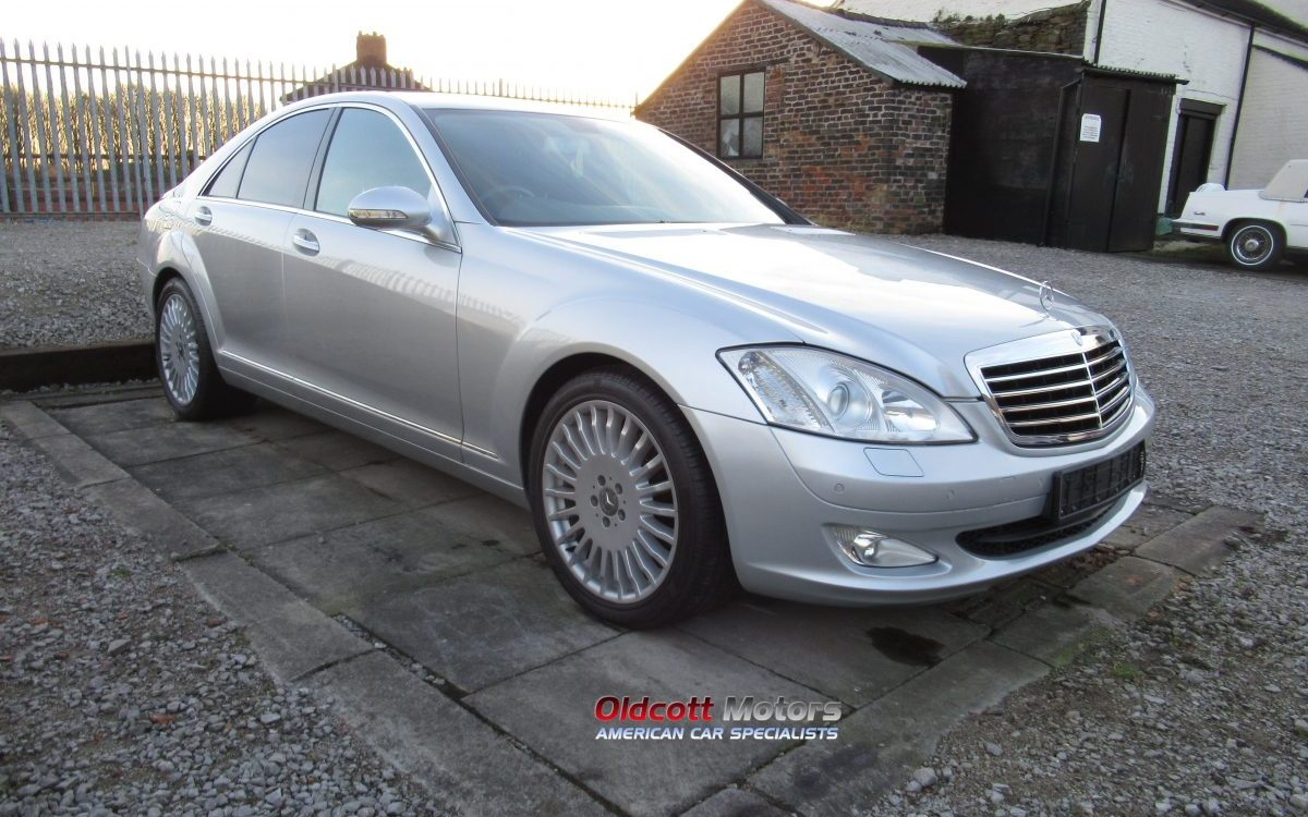 2008 MERCEDES S320 CDI AUTOMATIC 78,000 MILES