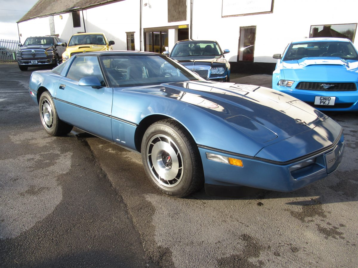 1985 CHEVROLET CORVETTE C4 5.7 LITRE AUTO, 27,000 MILES FROM NEW