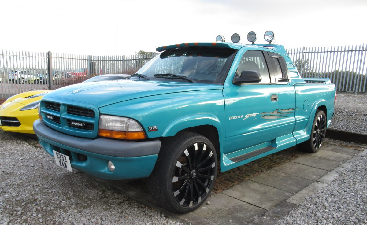 1997 DODGE DAKOTA SPORT 5.2 LITRE 5 SPEED MANUAL