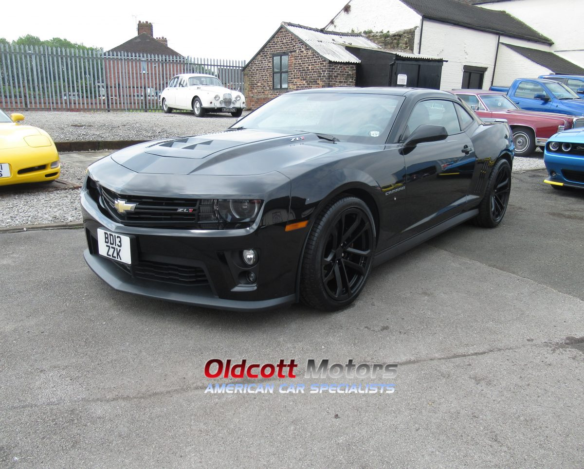 2013 CHEVROLET CAMARO ZL1 6.2 LITRE SUPERCHARGED 6 SPEED MANUAL