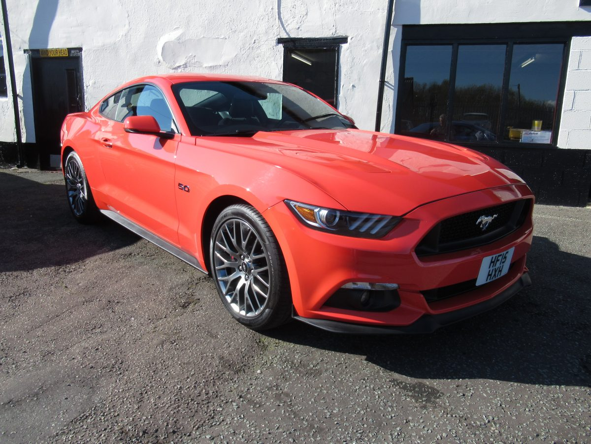 2015 FORD MUSTANG 5.0 GT PREMIUM 6 SPEED MANUAL