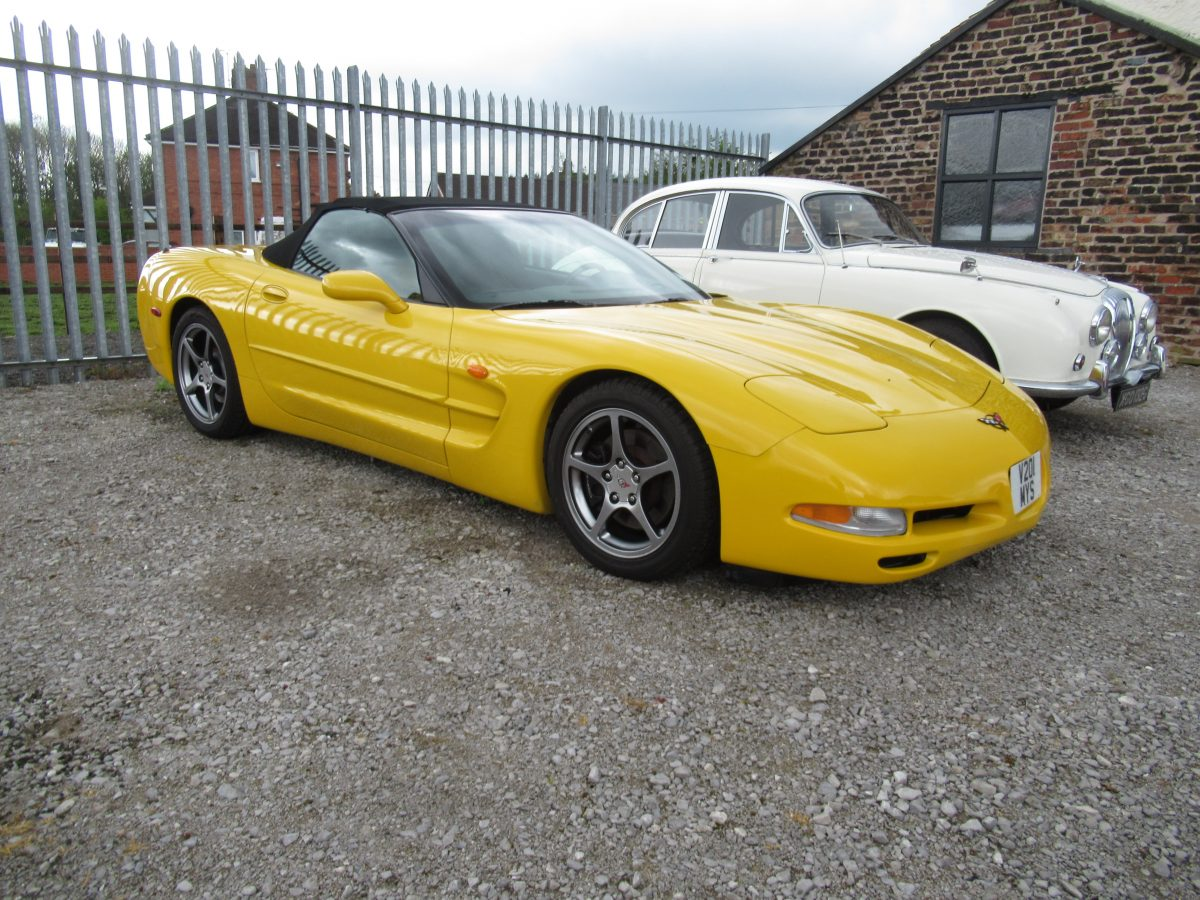 2000 CHEVROLET CORVETTE C5 CONVERTIBLE
