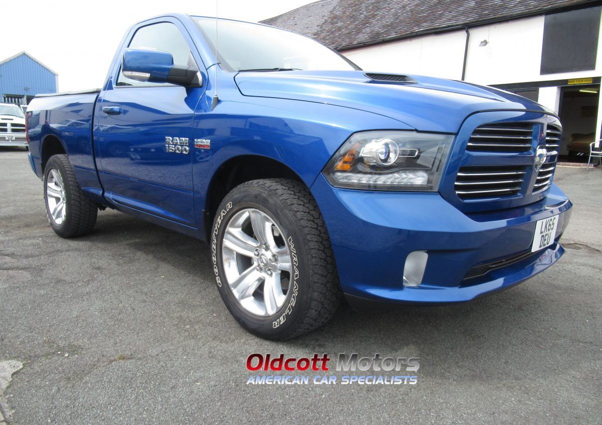 2016 DODGE RAM 1500 5.7 LITRE HEMI AUTO 4X4 REGULAR CAB PICKUP