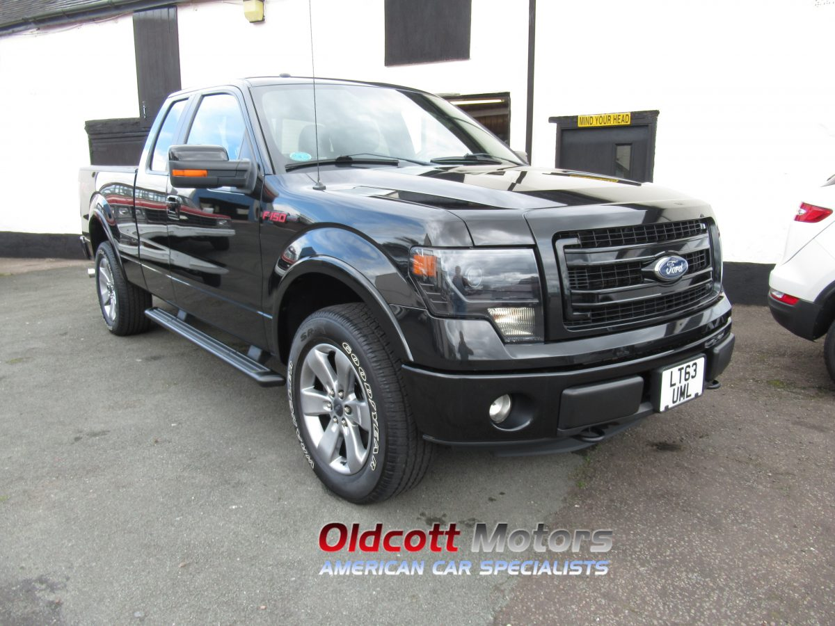 2013 FORD F150 FX4 3.5 LITRE TWIN TURBO ECHO BOOST AUTO