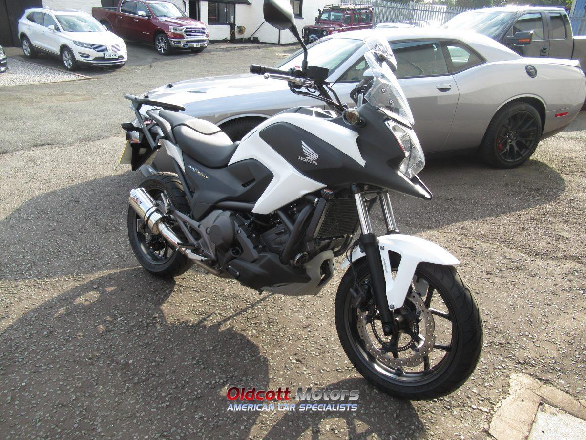 2015 HONDA NC750 XD-E AUTOMATIC MOTORCYCLE