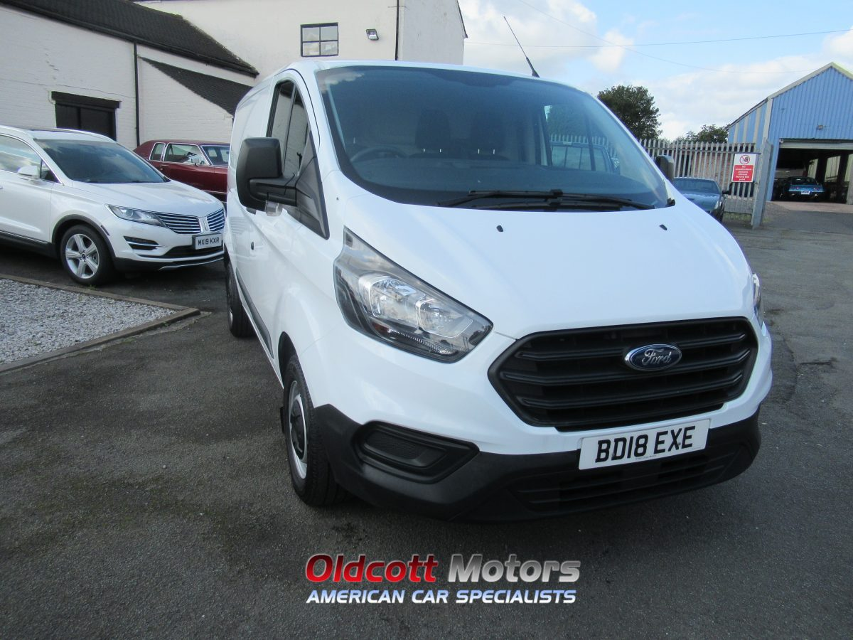 2018 FORD TRANSIT CUSTOM 280 BASE 2.0 LITRE DIESEL