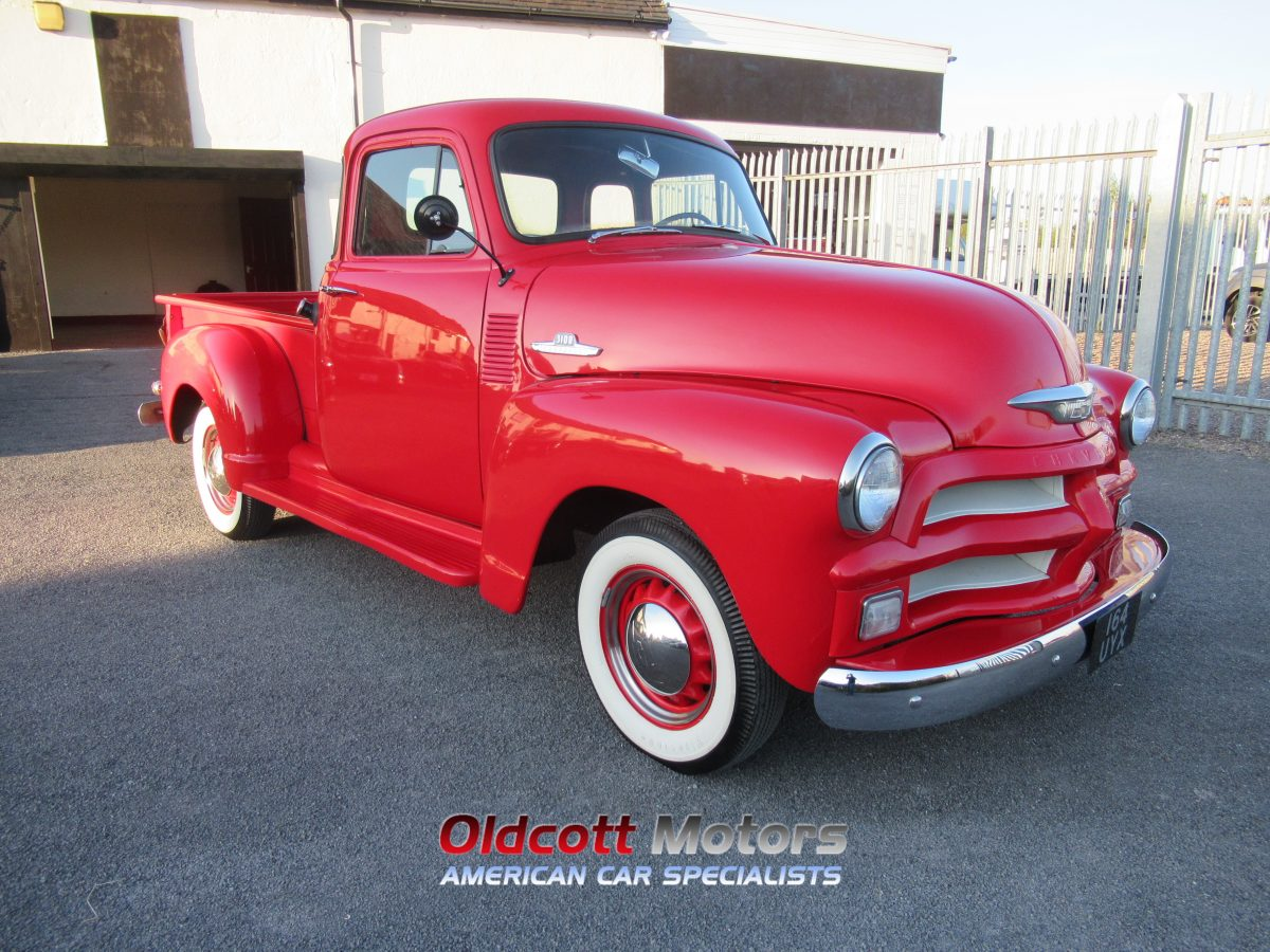 1954 CHEVROLET 3100 6 CYL AUTO STEPSIDE