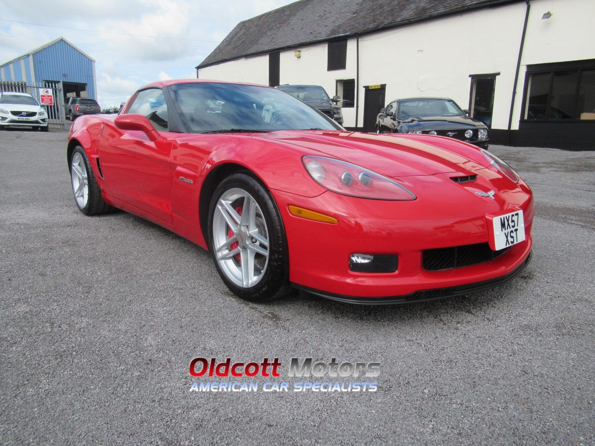 2008 CHEVROLET CORVETTE Z06 7.0 litre manual
