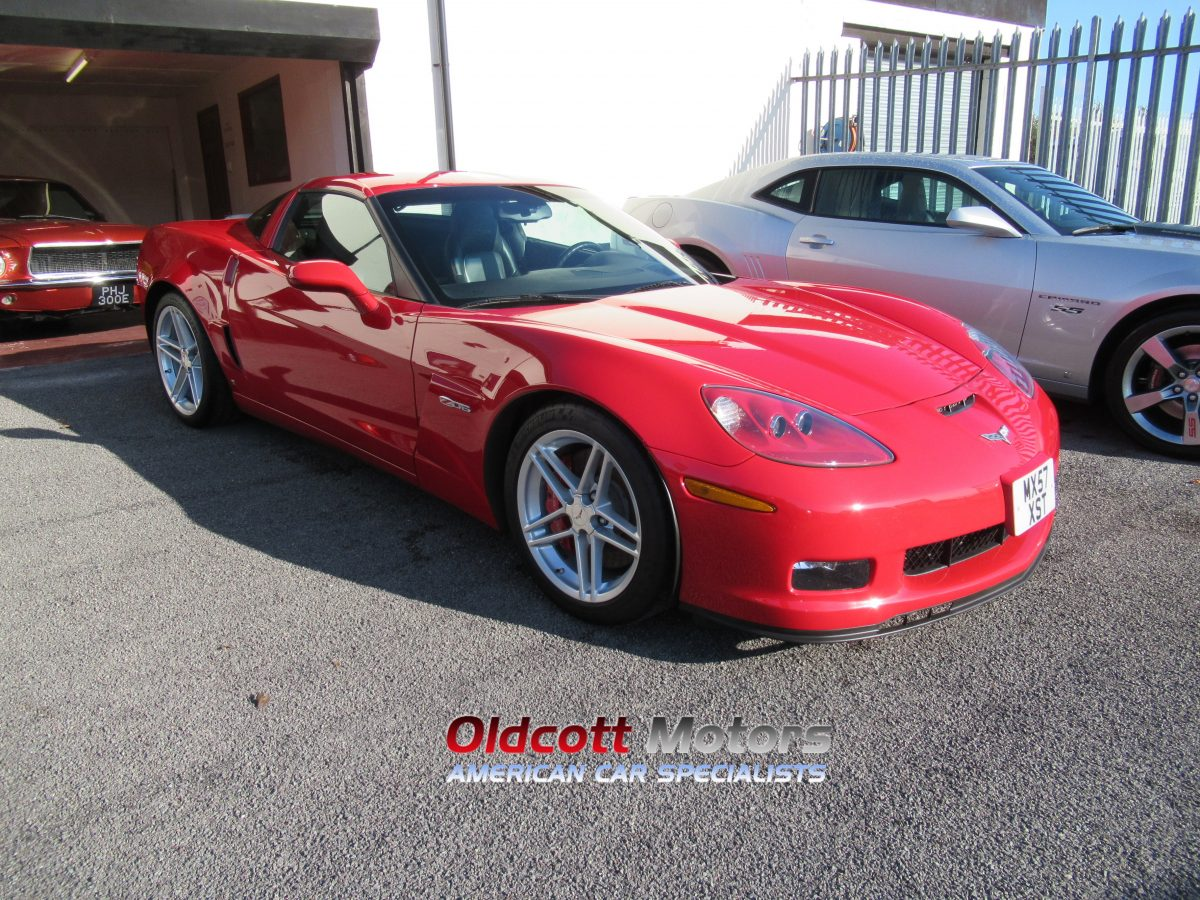 2008 REGISTERED CHEVROLET CORVETTE Z06 7.0 LITRE