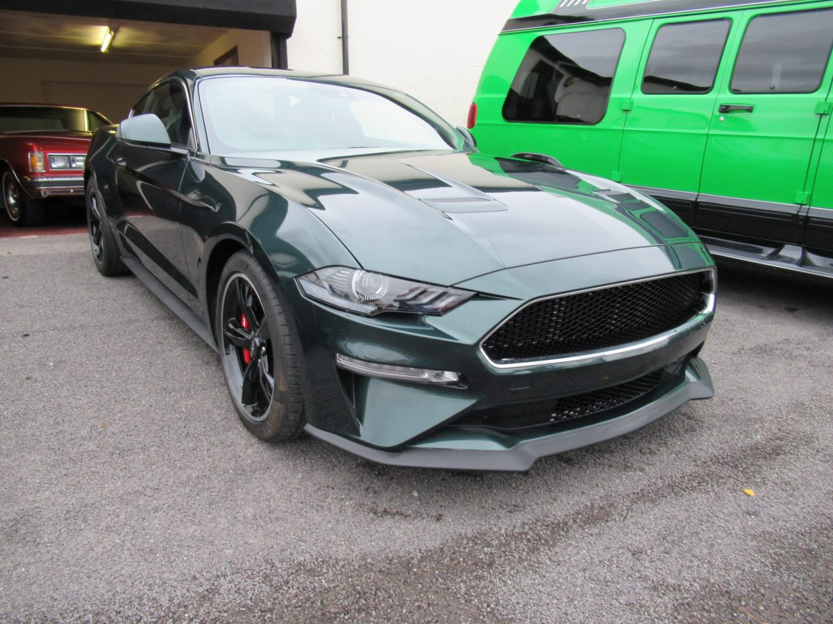 2019 FORD MUSTANG BULLITT RIGHT HAND DRIVE
