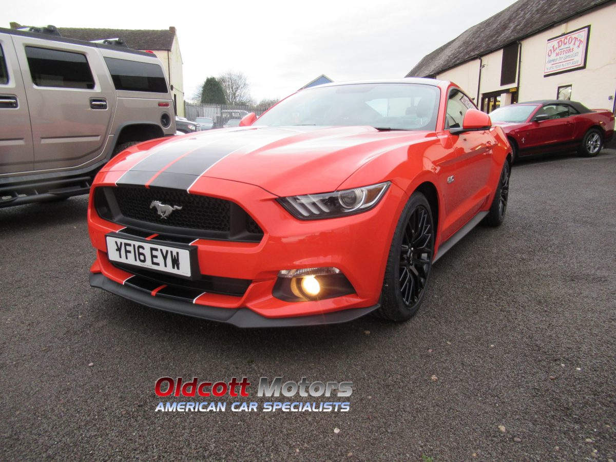 2016 FORD MUSTANG RIGHT HAND DRIVE 5.0 LITRE GT 6 SPEED MANUAL
