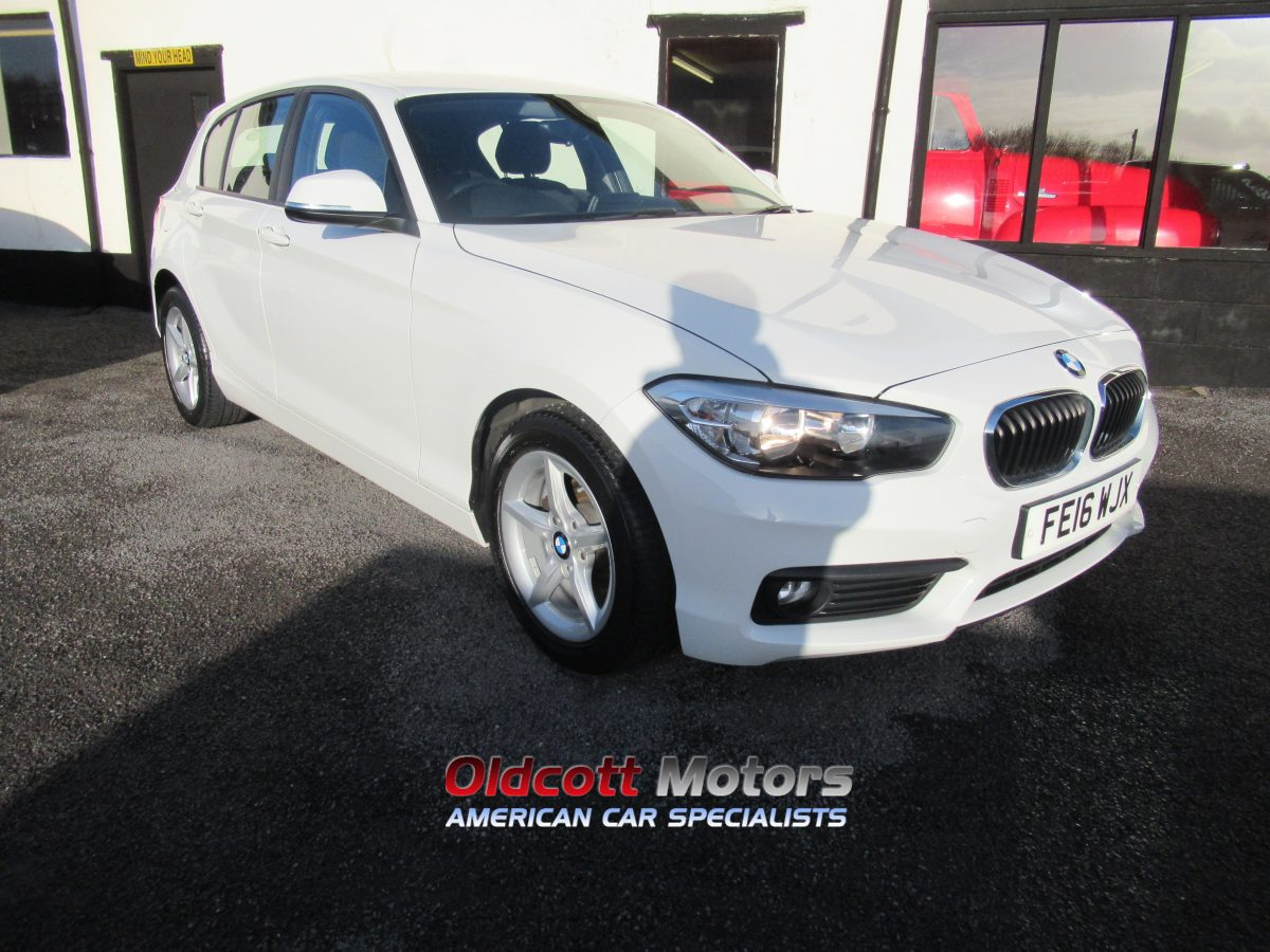 2016 BMW 118i SE 1.5 LITRE MANUAL PETROL