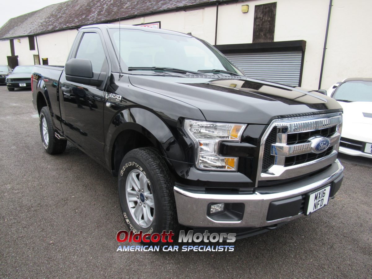 2016 FORD F150 XLT 4X4 AUTO REGULAR CAB 3.5 LITRE