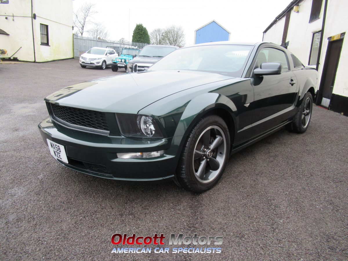 2008 FORD MUSTANG BULLITT 4.6 LITRE 5 SPEED MANUAL