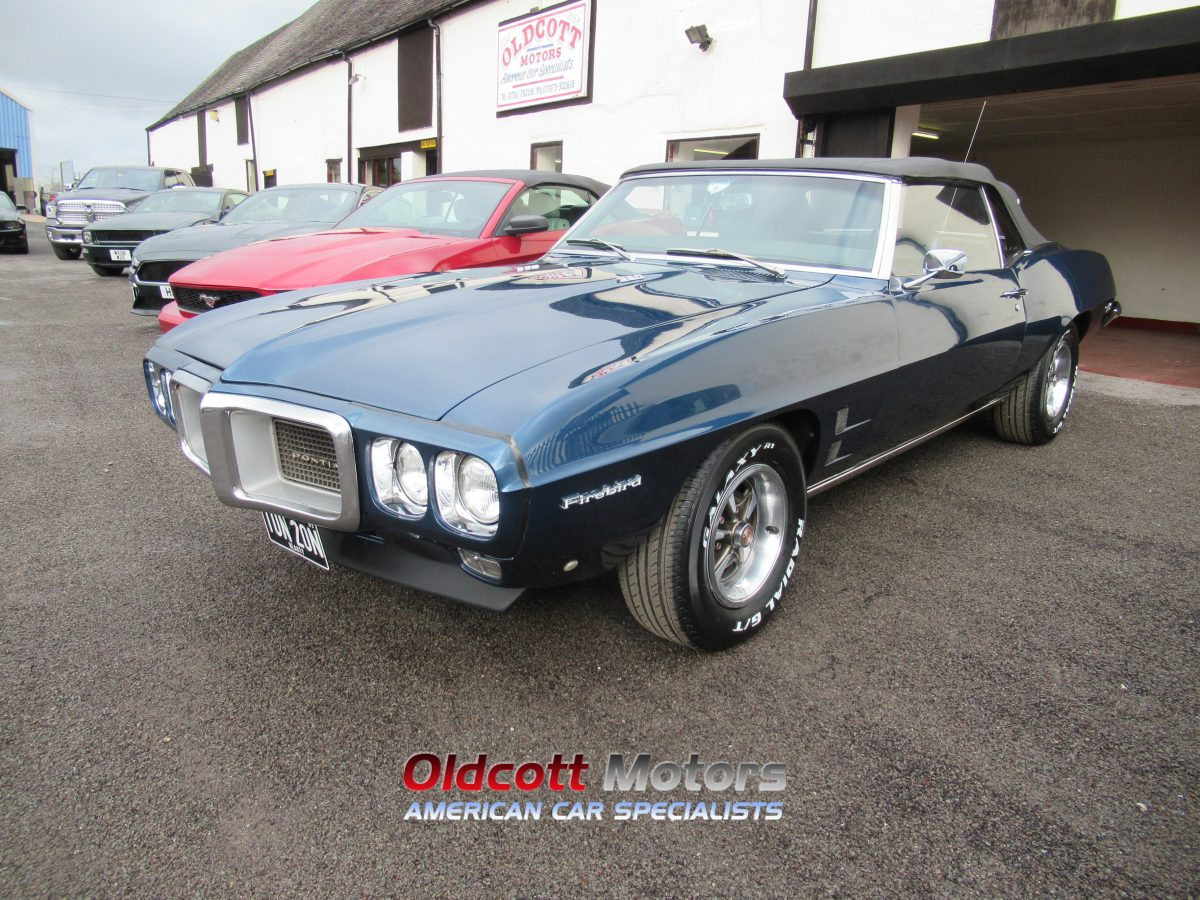 1969 PONTIAC FIREBIRD 350 CONVERTIBLE 5.7 LITRE 4 SPEED HURST MANUAL