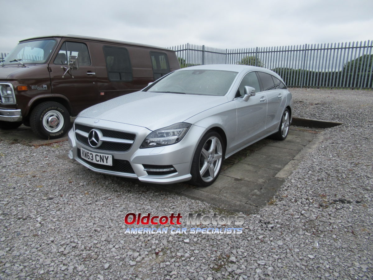 2014 MERCEDES CLS 350 CDI AMG ESTATE