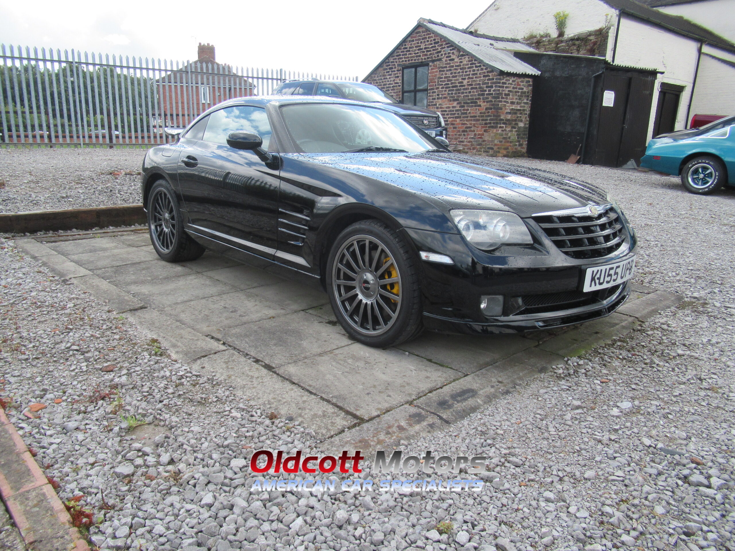 2005 CHRYSLER CROSSFIRE SUPERCHARGED SRT 6