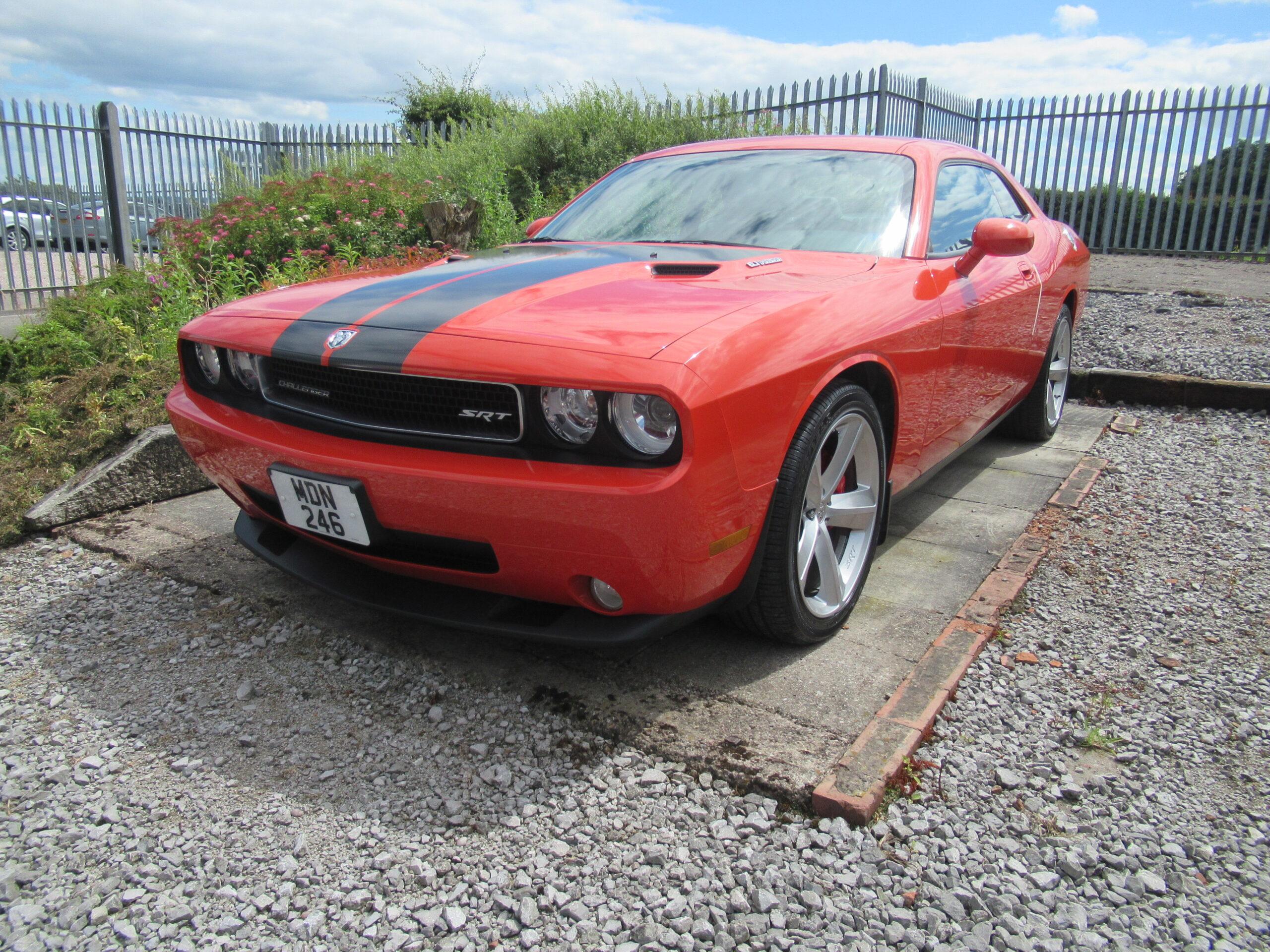 2010 DODGE CHALLENGER SRT 6.1 LITRE AUTO