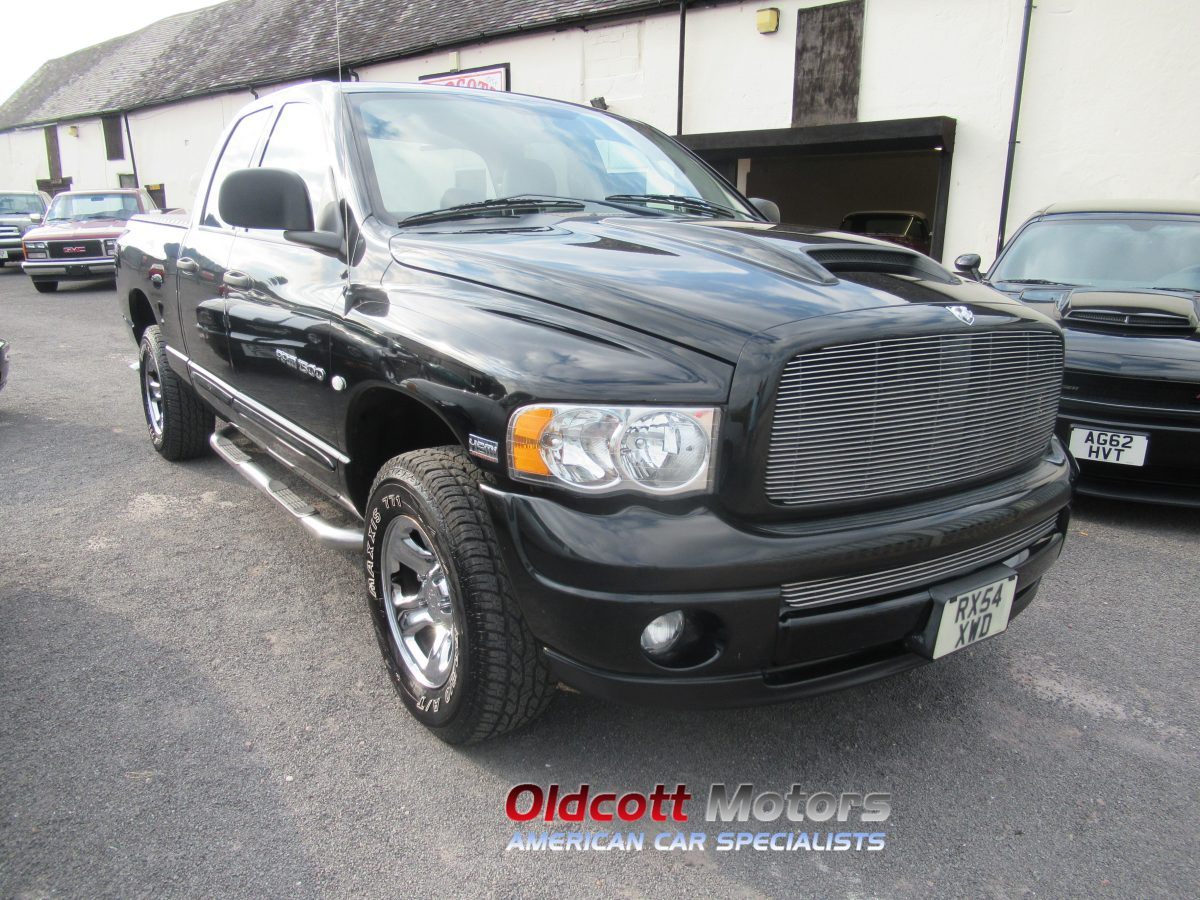 2005 DODGE RAM 1500 QUAD CAB with LPG
